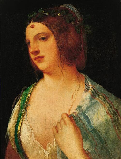 Bust Portrait of a Courtesan