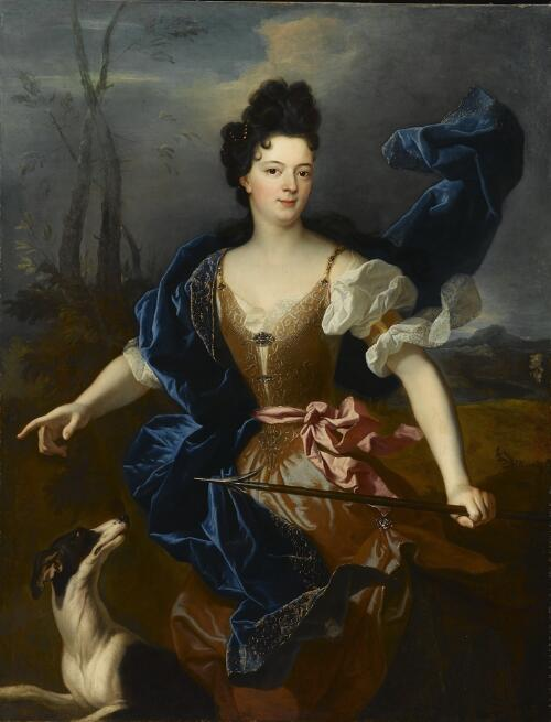 The Duchesse de Choiseul as Diana