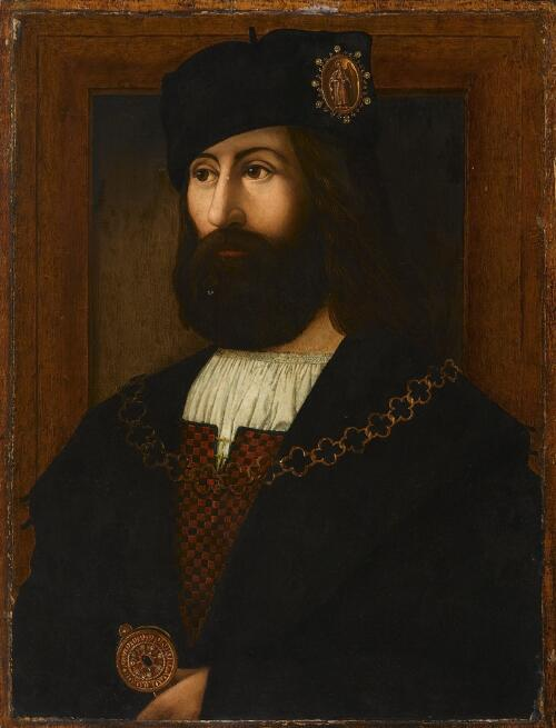 Portrait of a Man, a Knight of the Order of St. Paul