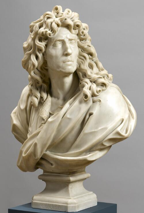 Bust Portrait of Pierre Mignard