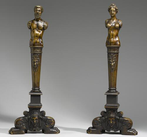Andirons (Male & Female)
