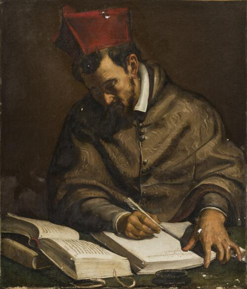 A Cardinal Saint Pondering the Words of Isaiah
