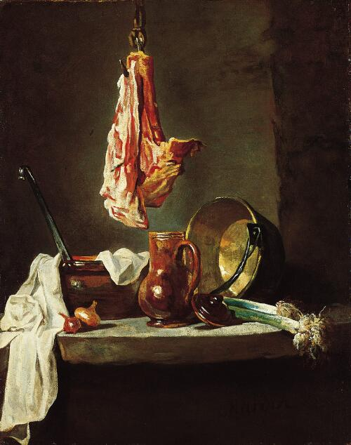 Still Life with Cooking Utensils