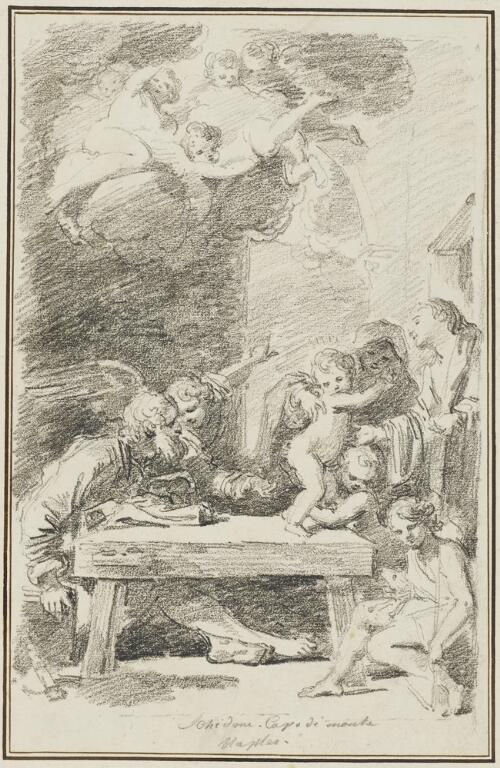 Study After Bartolommeo Schedoni: The Holy Family (from the Palazzo Capodimonte)