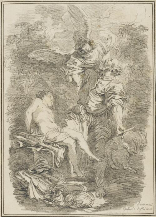 Study After Johann Liss: Sacrifice of Abraham (from the Pitti Palace)