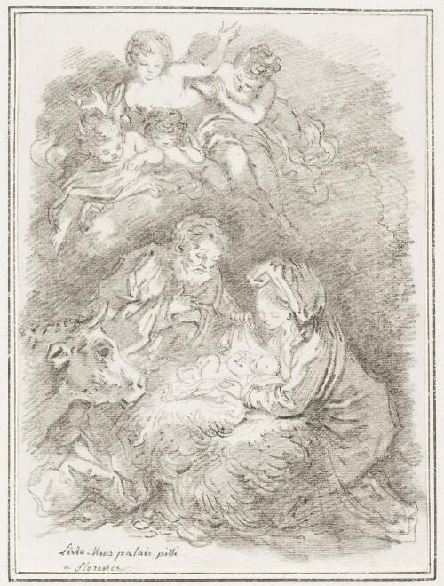 Study After Lieven Mehus: Nativity (from the Pitti Palace)
