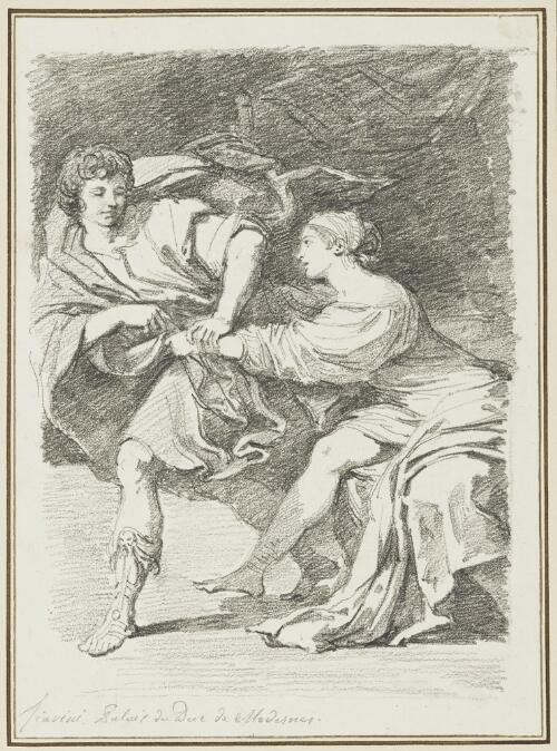 Study After Lionello Spada: Joseph and Potiphar's Wife (from the Palazzo Ducale)