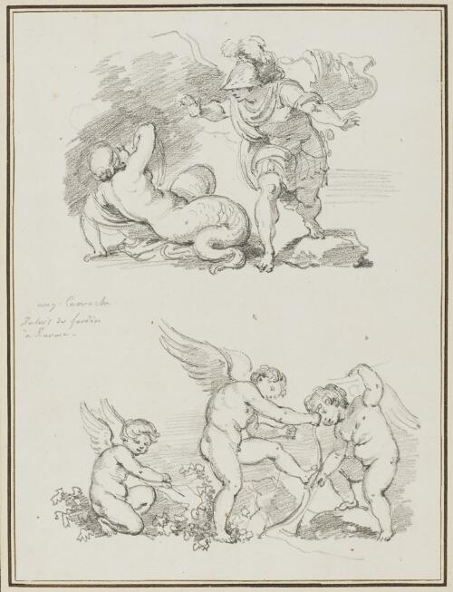 Study after Agostino Carracci: Triumph of Venus (from the Palazzo Ducale)