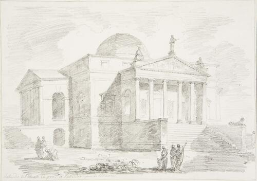 Study After Andrea Palladio: Villa Rotunda