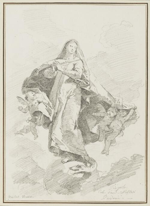 Study After Giovanni Battista Tiepolo: Immaculate Conception (from the Aracoeli)