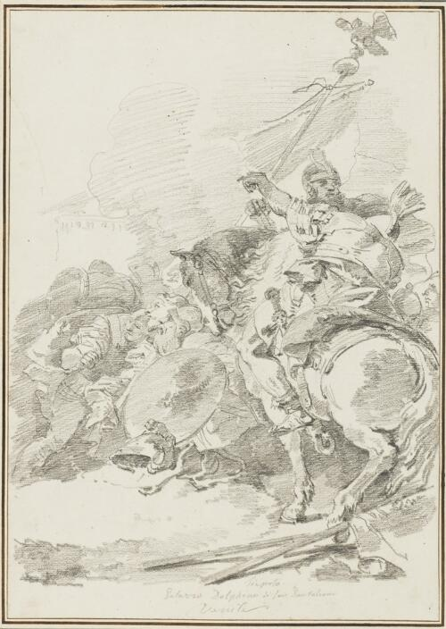 Study After Giovanni Battista Tiepolo: Capture of Carthage (from the Palazzo Dolfin)