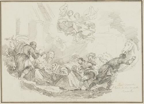 Study After Paolo Veronese: Adoration of the Magi (from the San Niccolo della Lattuga ai Frari)