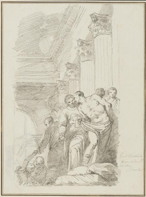 Study After Paolo Veronese: The Pool of Bethesda (from the San Sebastiano)