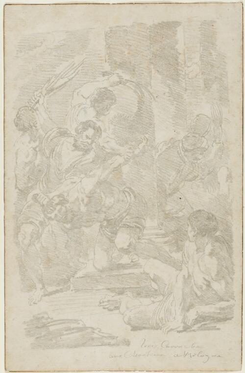 Study After Ludovico Carracci: The Flagellation of Christ (from Certosa)