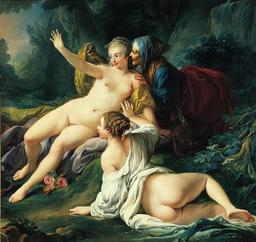 Jupiter and Semele