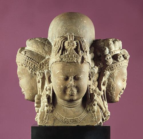 Shivalingam with Four Faces