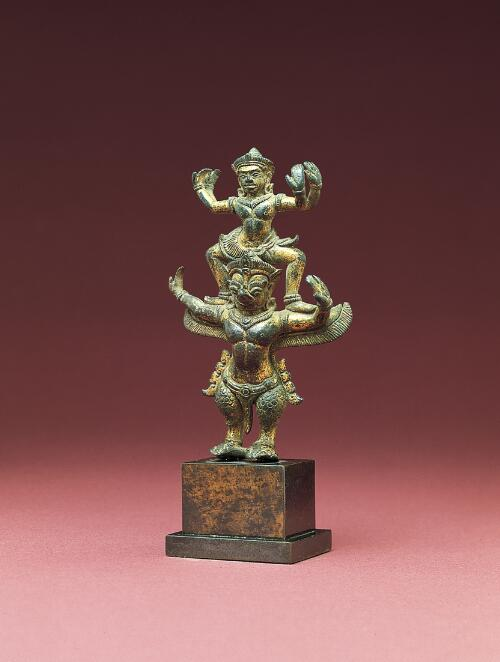 Vishnu Riding on Garuda