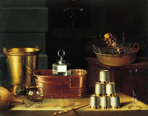 Still Life with Empty Glasses