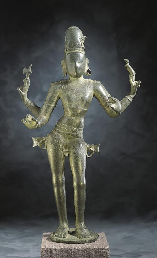 Shiva as Lord of Music