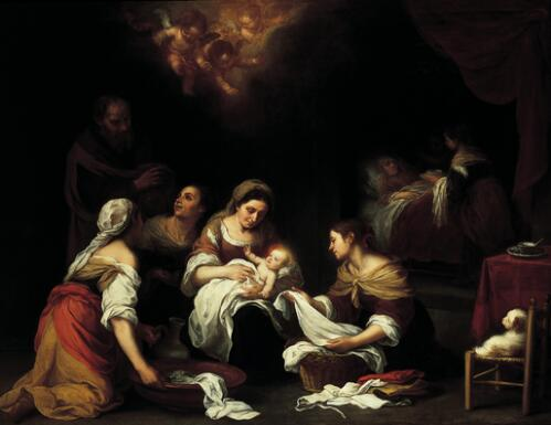 The Birth of St. John the Baptist