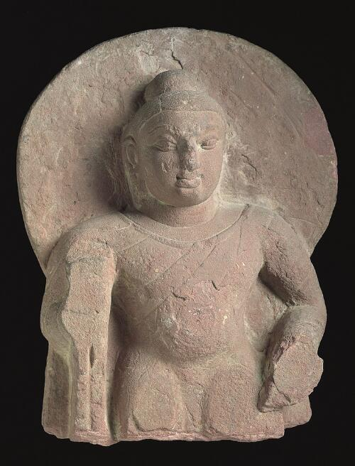 Head and Torso of Buddha Shakyamuni