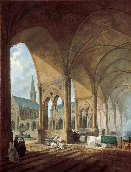 The Cloister of the Augustinian Nuns