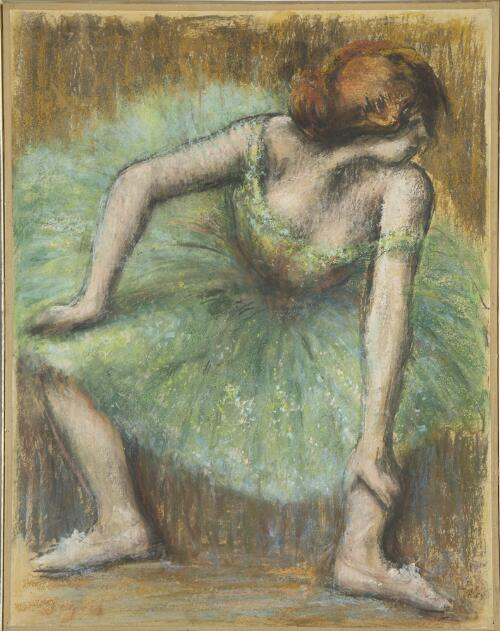 Dancer in Green