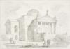Fragonard, Jean-Honoré - Study After Andrea Palladio: Villa Rotunda