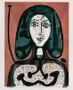 Picasso, Pablo - Woman with a Hairnet