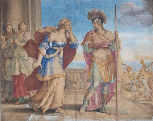 Dido Accosts the Departing Aeneas