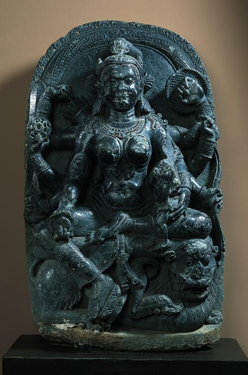 Durga with Kumara